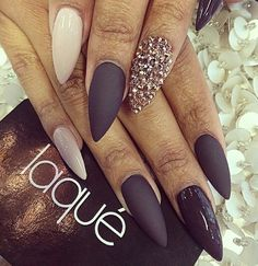 Matte, gloss and bling... OH MY!