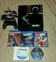 video-gaming: Sony PlayStation 4 500GB Bundle with 6 games #Games - Sony PlayStation 4 500GB Bundle with 6 games...