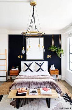 Black Walls Apartment