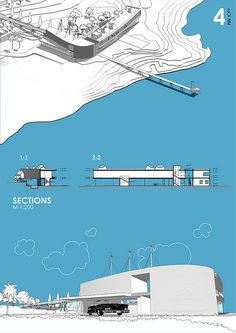 New drawing architecture layout presentation boards ideas - New drawing arc. - New drawing architecture layout presentation boards ideas – New drawing arc… – New draw - Architecture Panel, Architecture Graphics, Architecture Portfolio, Architecture Design, Drawing Architecture, Presentation Techniques, Project Presentation, Presentation Layout, Presentation Boards