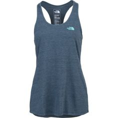 The North Face Women's Performance Logowear Play Hard Tank Top (Blue Dark, Size Small) - Women's Outdoor, Women's Outdoor Short-Sleeve Tops at Acad...