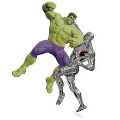 MARVEL Avengers: Age of Ultron The Hulk vs. Ultron Ornament