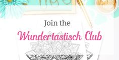 Mandala Free Printable Sign Up - Wundertastisch