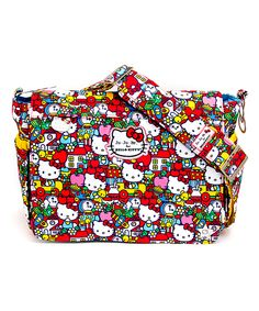 Ju-Ju-Be Tick Tock Hello Kitty Better Be Diaper Bag Bag by Ju-Ju-Be #zulily #zulilyfinds