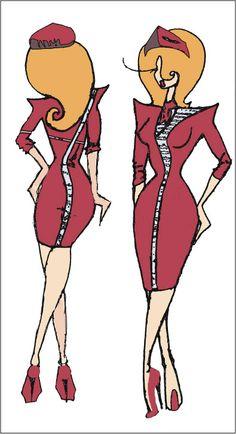 80s fashion drawing - Google Search