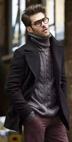 Модные мужские образы 2018 fashion estilos de moda masculina, moda hombre i Burning Man Style, Burning Man Fashion, Streetwear, Mode Man, Stylish Winter Outfits, Fashionable Outfits, Casual Winter, Ootd Winter, Winter Formal Men