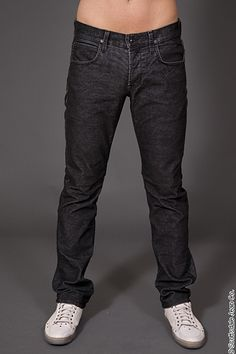 Hudson Mens Straight Leg Jean Byron Fit in Black Corduroy $176.00 #scottsdalejeanco #sjc #fallfashion