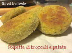 Polpette di broccoli e patate al microonde! http://www.ricettealvolo.it/polpette-di-broc…ate-al-microonde/