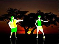 """Shakira's """"Waka Waka"""" (""""Esto Es África"""") with some mesmerizing green-screened kids dancing to the beat. Just odd enough to attract our 8 yr old's attention. Thx to for the pin. Fun In Spanish, Spanish Songs, Spanish Lessons, Just Dance Kids, Kids Dancing, Spanish Teacher, Spanish Classroom, Brain Break Videos, Simple Dance"""