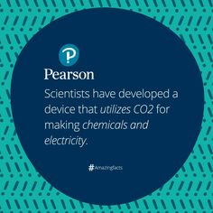 Researchers have developed an electrochemical cell that can scrub CO2 from air generating power and make chemicals for bleach and plastics. #Amazingfacts