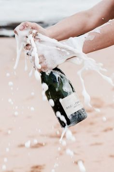 Cheers to Champagne. Cheers, Modern Hepburn, A Little Party, Silvester Party, Summer Vibes, Weekend Vibes, Summer Fun, Just In Case, Bubbles