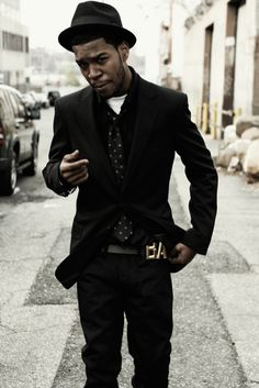"Kid Cudi. He is my inspiration for the way I dress. I remember whenever I picked up his first ever mixtape ""A Kid Named Cudi""."
