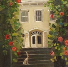 """""""A Visitor"""" by Janet Hill"""