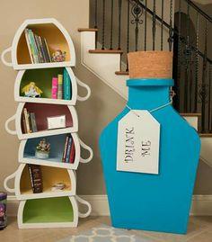Beautiful book shelves