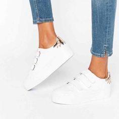 7fe3158997 Asos Size 9 Platform Sneaker Velcro Velcro Shoes