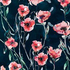 Poppies Art Print by Nikkistrange | Society6