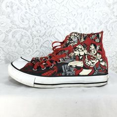 200c94efffdd A1 Converse Chuck Taylor All Star Superman Size 5 M 7 W High Top Sneakers