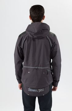 Showers Pass Mens Waterproof Refuge Jacket Grey Large *** Details can be found by clicking on the image. (This is an affiliate link)