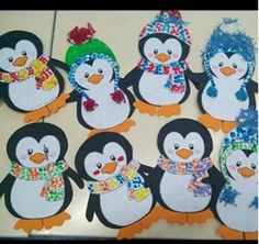 Penguin Crafts for Kids - Natural Beach Penguin Crafts for Kids, Penguin Activities for Kids, Penguin Crafts make a great winter kids craft, a preschool craft for home or a classroom and they Winter Crafts For Toddlers, Winter Kids, Toddler Crafts, Preschool Crafts, Kids Crafts, Easy Christmas Crafts, Christmas Art, Decoration Creche, January Crafts