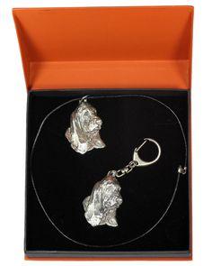 Basset Hound Dog, Casket, The Prestige, Jewelry Sets, Statue, Detail, Diamond, Dogs, Silver
