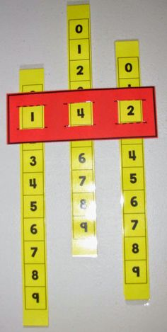 Place Value Sliders!