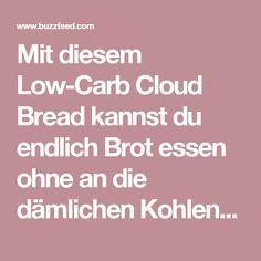 Mit diesem Low-Carb Cloud Bread kannst du endlich Brot essen ohne an die dämlichen Kohlenhydrate zu denken