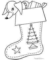 christmas stocking coloring page | coloring pages & activities ... - Coloring Pages Christmas Stocking
