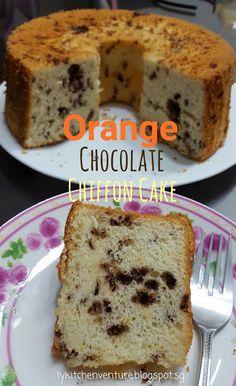 LY's Kitchen Ventures: Orange Chocolate Chiffon Cake