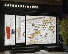 Retail Design Blog — CASHMEREINLOVE Flagship Store by URAStudio,...