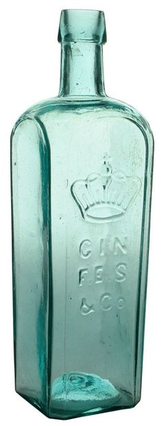 Auction 26 Preview | 886 | Crown Gin Antique Bottle