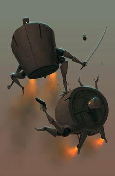Battlebots by *andrewmar on deviantART