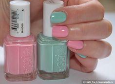 Essie #19 Need a Vacation, Essie 99 Mint Candy Apple+Dance Legend Dotty Top — Отзывы о косметике — Косметиста