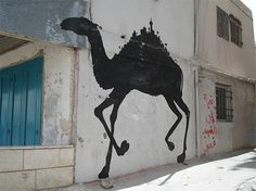 Banksy Graffiti art from Occuppied Palestine
