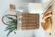 milk, bread