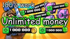 After knowing what the clash royale modded apk is, we are sure you want the access to the unlimited money hack. Start the clash royale mod apk download now from here