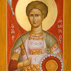 St Demetrios the Myrrhstreamer