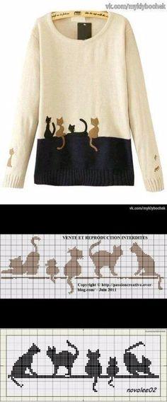 Just for inspiration - Stricken Ideen Ohne Motiv. Just for inspiration, jumper knitting pattern Source by Jumper Knitting Pattern, Knitting Charts, Knitting Stitches, Knitting Designs, Knitting Patterns Free, Knit Patterns, Baby Knitting, Color Patterns, Knitting Sweaters