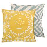 Thomas Paul Reversible Sun Gold Pillow TPPCT0120GLD