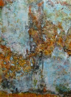 60 Years of Making Art: Different encaustic techniques