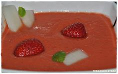 VINO, GASTRONOMIA Y VIAJES (Entre Fogones y Gin Tonics): Gazpacho de fresón y melón