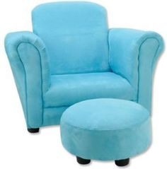 Toddler Chair And Ottoman Lazy Boy Big Man 59 Best Toys R Us Children S Chairs Images Furniture Kids Turquoise Aqua