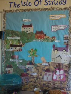 The Isle of Struay. Ks1 Classroom, Primary Classroom, Primary School, Future Classroom, Classroom Ideas, Class Displays, School Displays, Classroom Displays, Teaching Geography