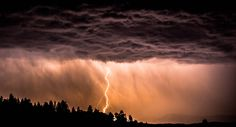 Lightning in West Yellowstone