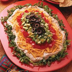 Layered Taco Dip Recipe from Land O'Lakes