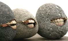 Unusual sculpture of stone - some are a lil creepy, but all of them are cool. Rock Sculpture, Stone Sculptures, Art Rupestre, Happy Rock, Sticks And Stones, Art Plastique, Stone Art, Wood Stone, Faux Stone