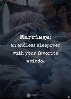 marriage is... (see it that way) 😁