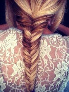 Braids + Floral Lace = Amazing