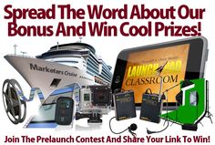 http://mostamazingbonus.com/c/181521 Most Amazing Bonus Spread the word about our Most Amazing Bonus Ever for the launch of iMotion Video to win over $13,000 in super cool prizes!