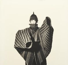 Issey Miyake Onion Flower Bud Coat by Irving Penn, 1988. Follow us on facebook: www.facebook.com/pages/Hey-Jo