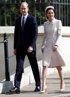 Kate Middleton'ın Paskalya Töreni Kıyafeti
